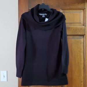 French Connection cowlneck tunic